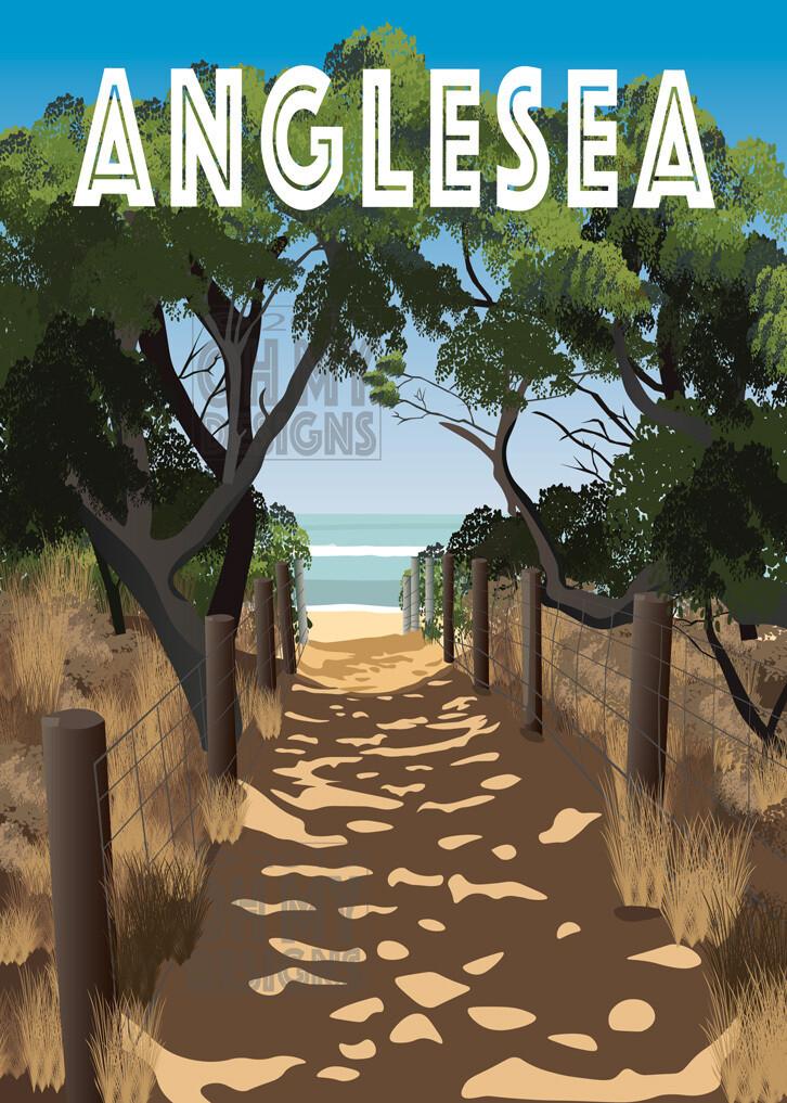 Anglesea - Beach Path