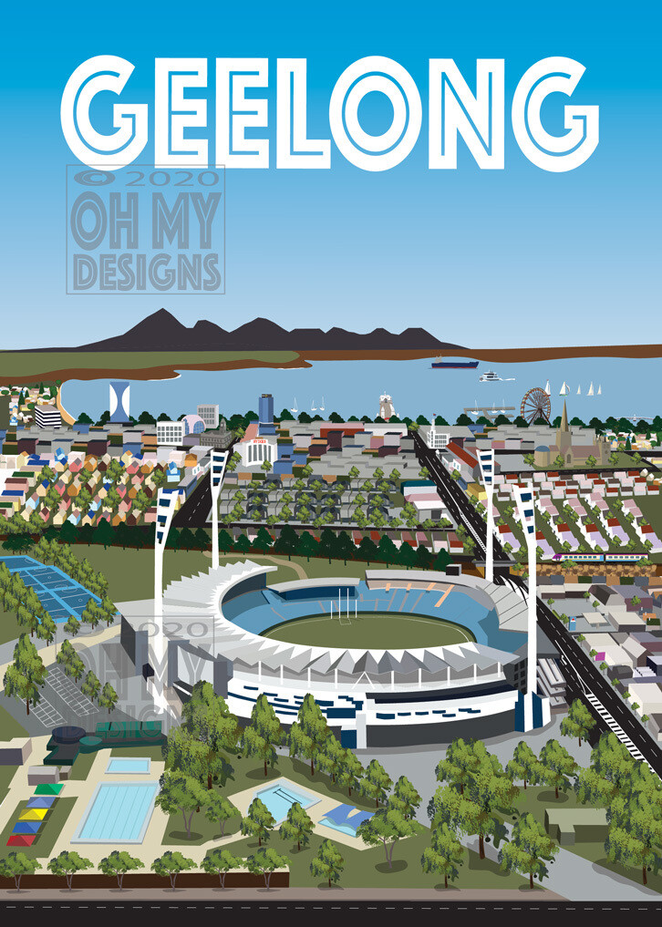 Geelong - Aerial view