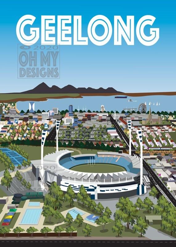 Geelong - Aerial view