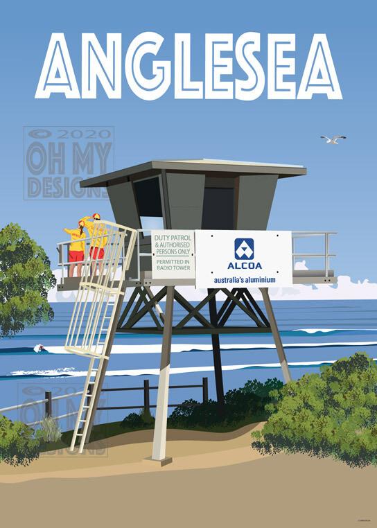 Anglesea - Life Saving Patrol Tower