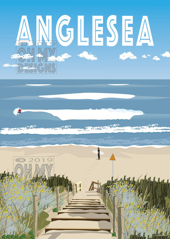 Anglesea, Point Roadknight - Surf