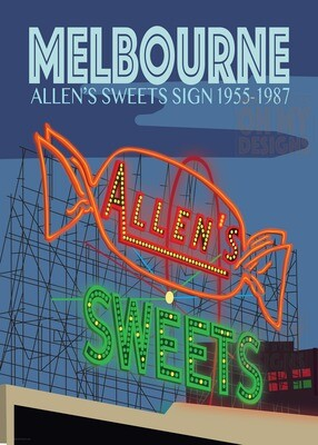 Melbourne - Allens Sweets