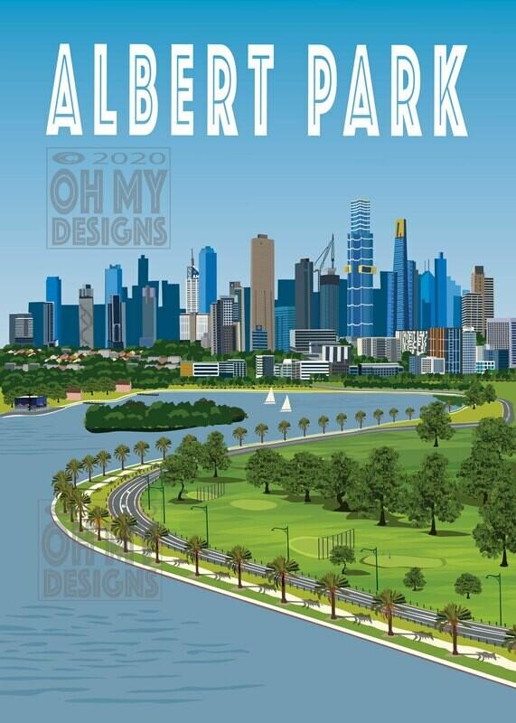 Melbourne - Albert Park Lake