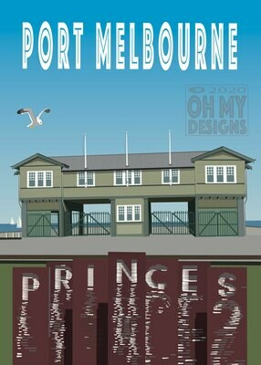 Melbourne - Port Melbourne, Princes Pier