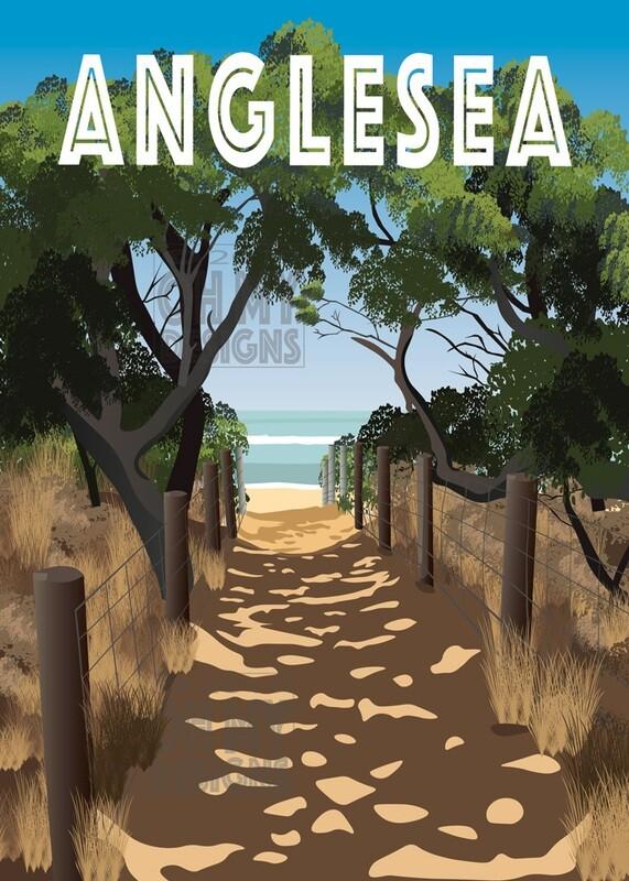 Anglesea, Point Roadknight - Beach Path