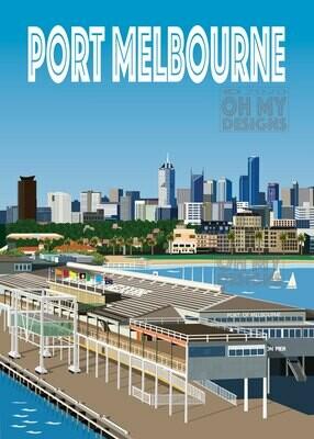 Melbourne - Port Melbourne, Station Pier