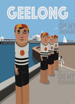 Geelong - Bollards