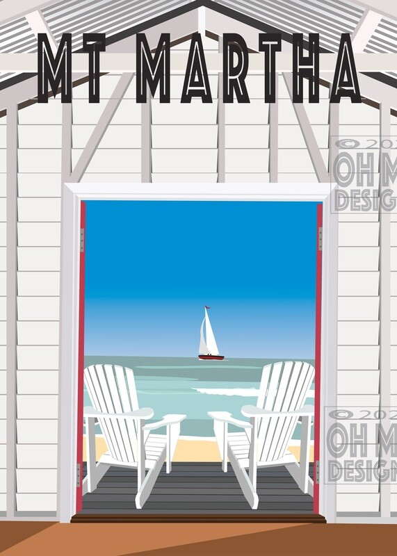 Mt Martha - View from a Beach Box