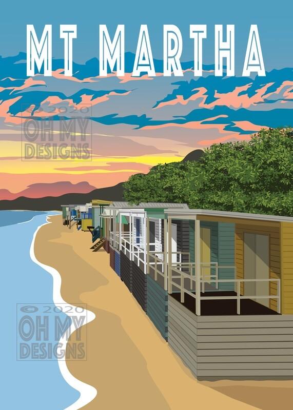 Mt Martha - North Beach, Beach Boxes