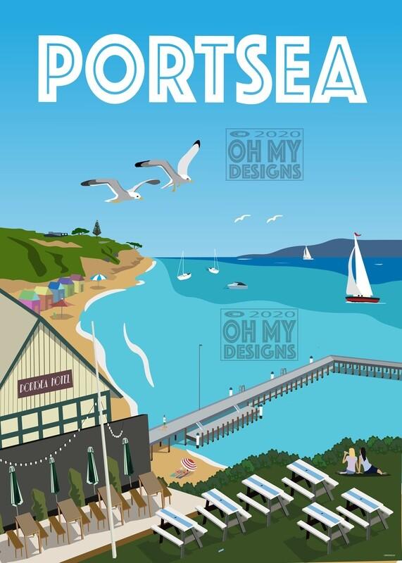 Mornington Peninsula Portsea - Aerial