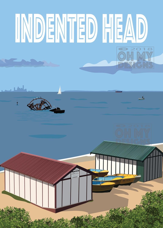 Indented Head - Boat Sheds