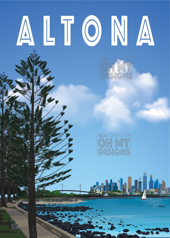 Altona - View to Melbourne