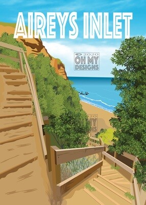 Aireys Inlet - Steps to the beach
