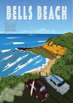 Bells Beach - Cars