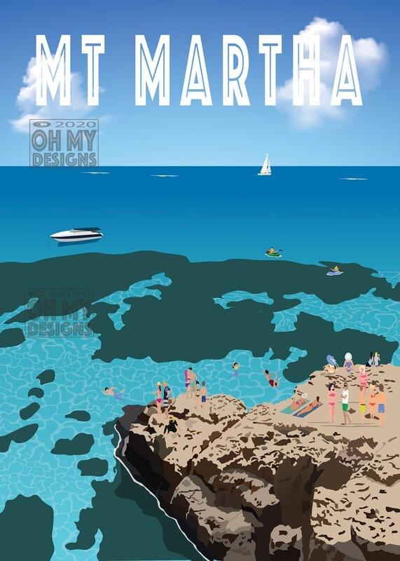 Mt Martha - The Pillars