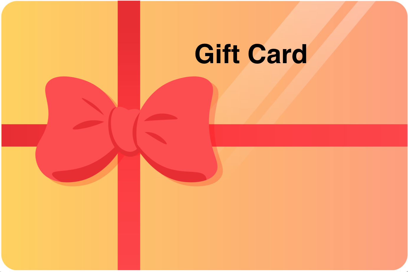 Gift card - Click here to choose amount