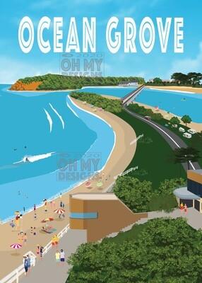 Ocean Grove - Aerial View