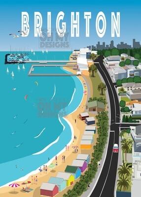 Melbourne - Brighton Aerial View