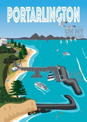 Portarlington - Aerial view