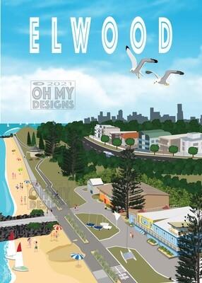 Melbourne - Elwood Aerial