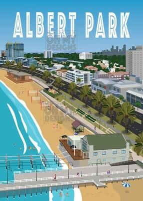 Melbourne - Albert Park Beach
