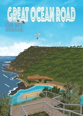 Great Ocean Road- Teddy's Lookout
