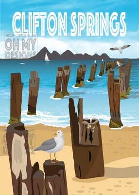 Clifton Springs - Pier Posts