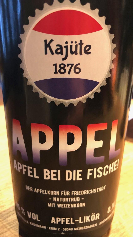 Kajüte 1876 Appel