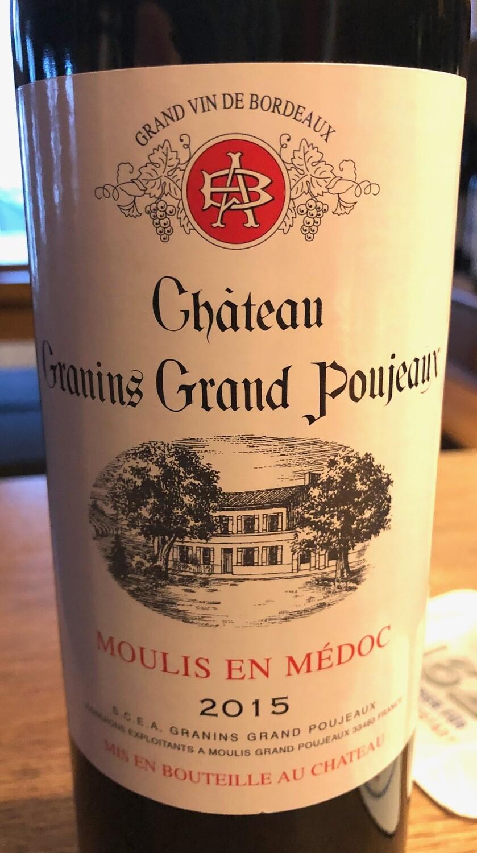 Chateau Granins Grand Poujeaux
