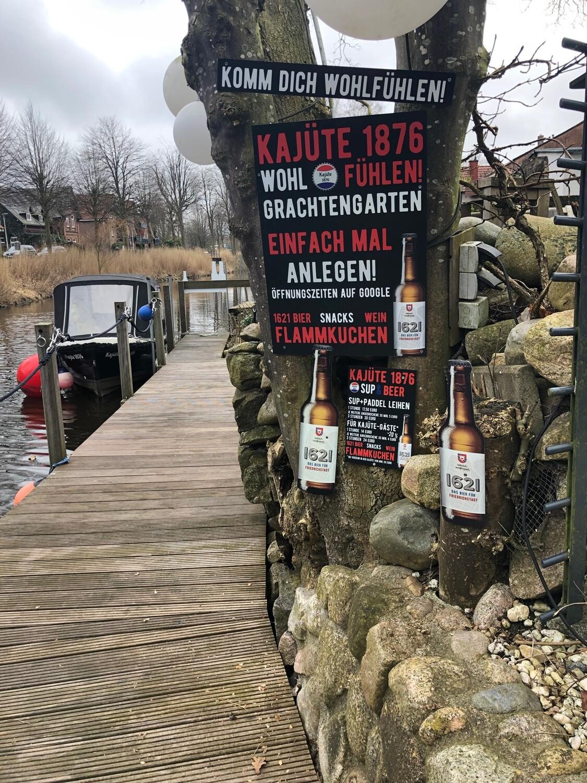 1621-Kajüten-Grachtentour exklusiv 2. Mai
