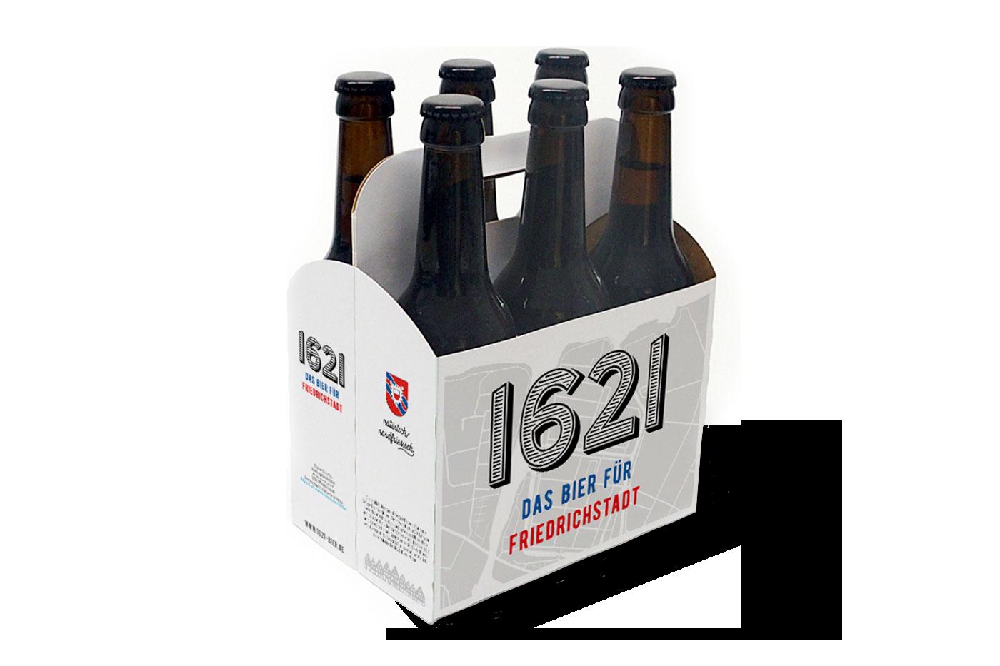 1621 Das Bier für Friedrichstadt Sixpack