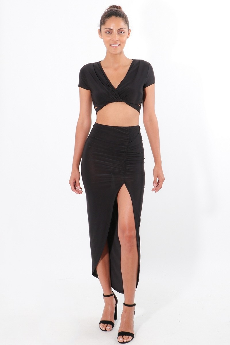 SKIRT Cropped-2pc-Wrapped-Style-cropped-skirt-ensemble