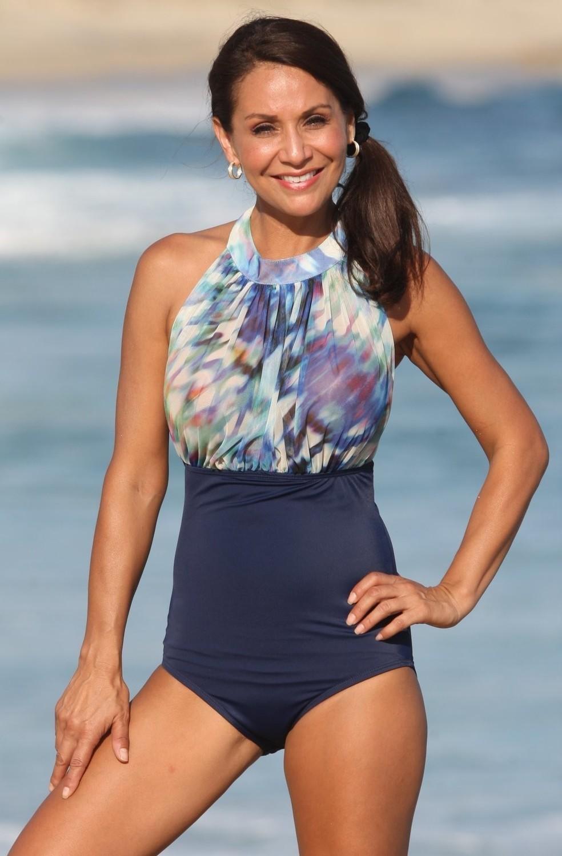 SWIMWEAR 1PC - Catalina Sunset Swimsuit