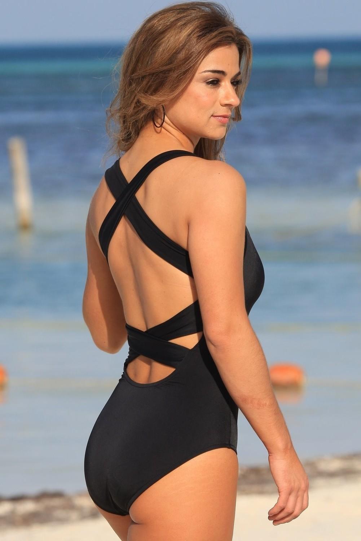 SWIMWEAR|1PC - Montego Bay Black Swimsuit