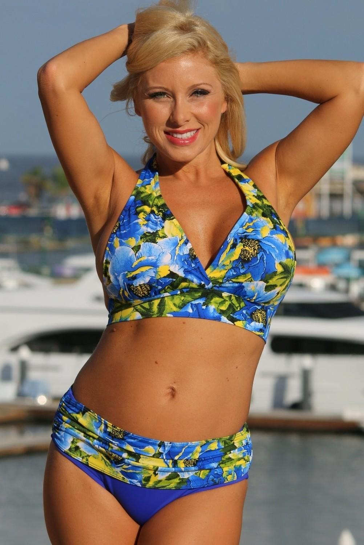 SWIMWEAR 2PC-Royal Islands Minimizer Plus Size Swimsuit