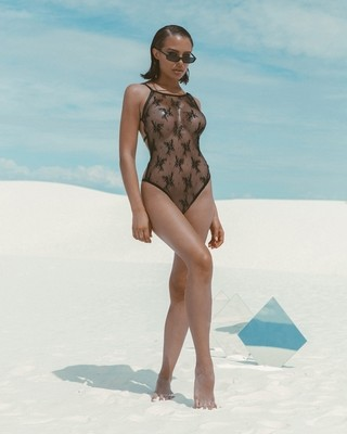 LINGERIE | 1pc Classic Full Front Cover Lace Teddy