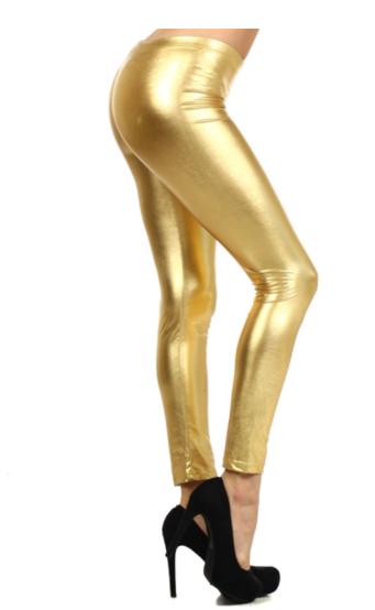 Leggings| PU Shiny Color Legging