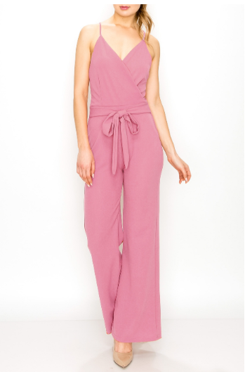 JumpSuits| Solid Color Jumpsuit