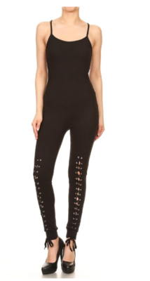 JumpSuits| Lace up Fashion Jumpsuit