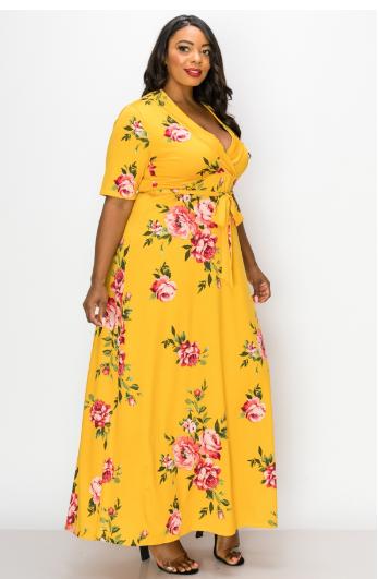 Dresses  MAXI FLORAL DRESS