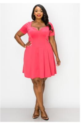 Dresses| Flared Short Dress