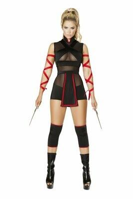 COSTUMES  SUPERHEROS   5pc Ninja