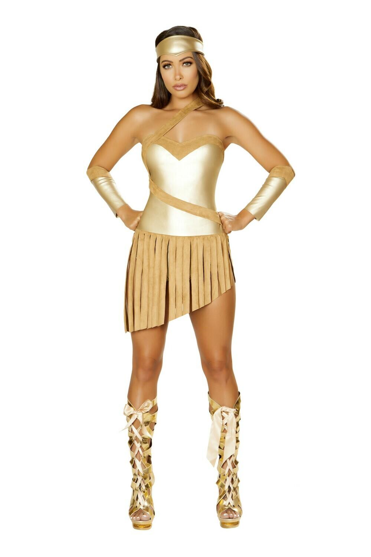 COSTUMES| SUPERHEROS|  3pc Golden Goddess