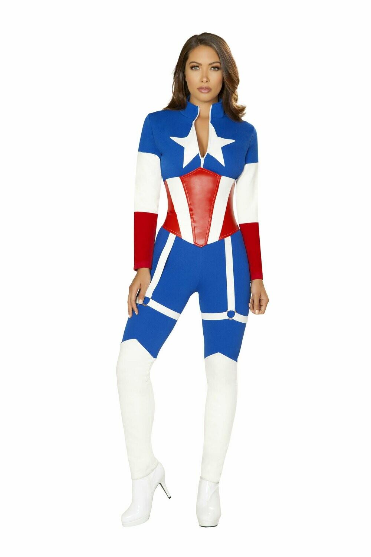 COSTUMES  SUPERHEROS   2pc America Commander