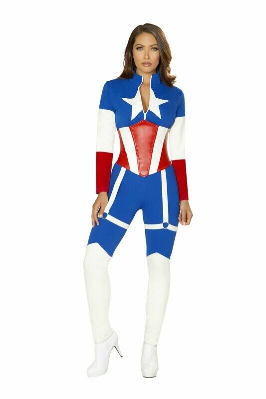 COSTUMES| SUPERHEROS|  2pc America Commander