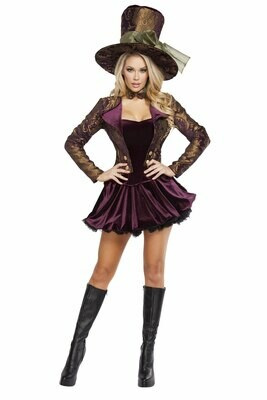 COSTUMES| MISCELLANEOUS|  4pc Tea Party Vixen
