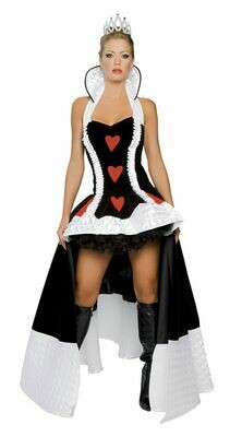 COSTUMES| MISCELLANEOUS|  3pc Enchanting Queen of Hearts