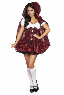 COSTUMES| MISCELLANEOUS|  4pc Lusty Lil Red