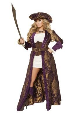 COSTUMES| PIRATE|  6pc Decadent Pirate Diva