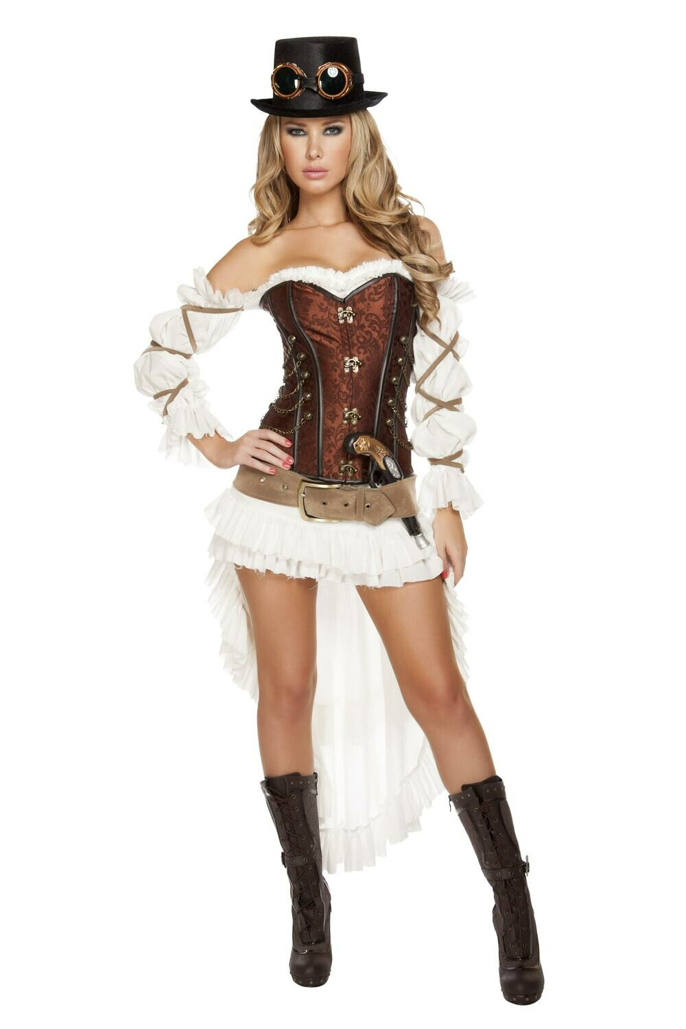COSTUMES| MISCELLANEOUS|  7pc Sexy Steampunk Babe